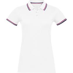 Textil Mulher Polos mangas curta Sols PRESTIGE MODERN WOMEN Blanco