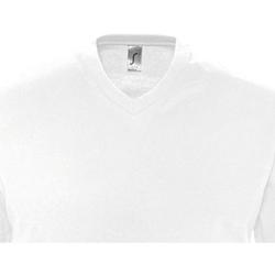 Textil Homem T-Shirt mangas curtas Sols VICTORY COLORS Blanco