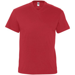Textil Homem T-Shirt mangas curtas Sols VICTORY COLORS Rojo