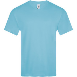Textil Homem T-Shirt mangas curtas Sols VICTORY COLORS Azul