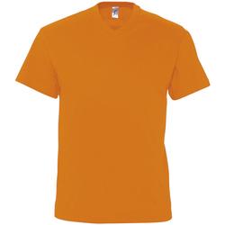 Textil Homem T-Shirt mangas curtas Sols VICTORY COLORS Naranja