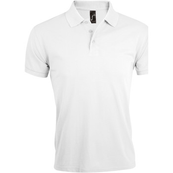 Textil Homem Polos mangas curta Sols PRIME ELEGANT MEN Blanco