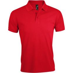 Textil Homem Polos mangas curta Sols PRIME ELEGANT MEN Rojo