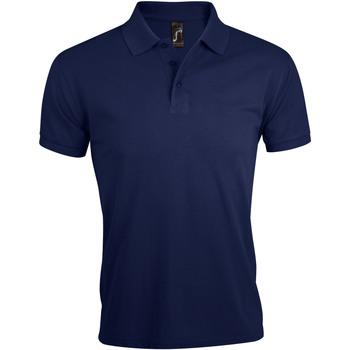 Textil Homem Polos mangas curta Sols PRIME ELEGANT MEN Azul