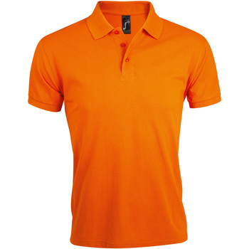 Textil Homem Polos mangas curta Sols PRIME ELEGANT MEN Naranja