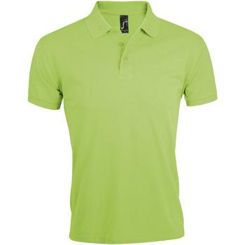 Textil Homem Polos mangas curta Sols PRIME ELEGANT MEN Verde