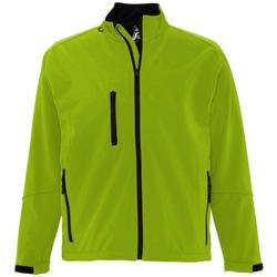 Textil Homem Jaquetas Sols RELAX SOFTSHELL Verde