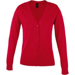 Textil Mulher Casacos de malha Sols GOLDEN ELEGANT WOMEN Rojo