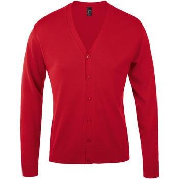 Textil Homem Casacos de malha Sols GOLDEN ELEGANT MEN Rojo