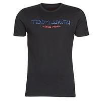 Textil Homem T-Shirt mangas curtas Teddy Smith TICLASS Preto