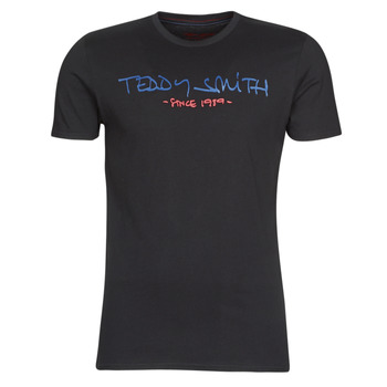 Textil Homem T-Shirt mangas curtas Teddy Smith TICLASS Preto