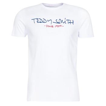 Textil Homem T-Shirt mangas curtas Teddy Smith TICLASS Branco