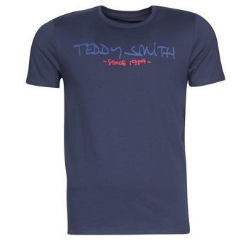 Textil Homem T-Shirt mangas curtas Teddy Smith TICLASS Marinho