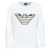 Textil Mulher Sweats Emporio Armani DJIMMY Branco