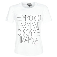 Textil Mulher T-Shirt mangas curtas Emporio Armani DONOVANN Branco