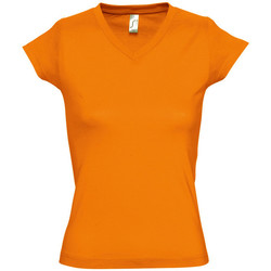 Textil Mulher T-Shirt mangas curtas Sols MOON COLORS GIRL Naranja