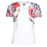 Textil Homem T-Shirt mangas curtas Desigual LIAN Multicolor
