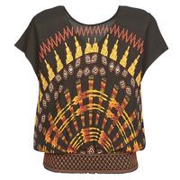 Textil Mulher Tops / Blusas Desigual NAPOLES Multicolor