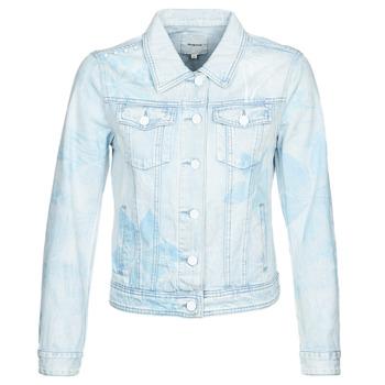 Textil Mulher casacos de ganga Desigual WHAII Azul