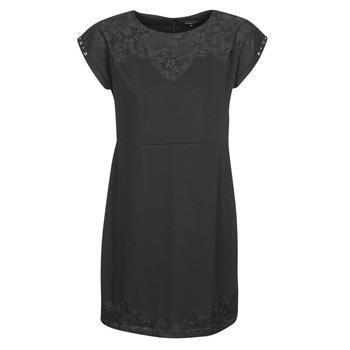 Textil Mulher Vestidos curtos Desigual BANQUET Preto