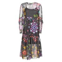 Textil Mulher Vestidos compridos Desigual PORTLAND Multicolor
