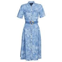 Textil Mulher Vestidos compridos Desigual KATE Azul