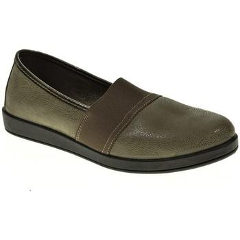 Sapatos Mulher Mocassins Momem 00364 Gris