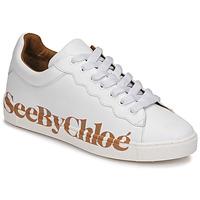 Sapatos Mulher Sapatilhas See by Chloé SB33125A Branco