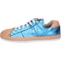 Sapatos Mulher Sapatilhas Moma BR907 Azul