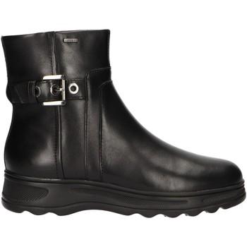 Sapatos Mulher Botas baixas Geox D84AUA 00043 D HOSMOS Negro