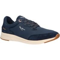Sapatos Homem Sapatilhas Pepe jeans PMS30575 JAYKER Azul