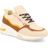 Sapatos Mulher Sapatilhas Festissimo 881 Beige