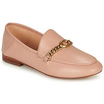Sapatos Mulher Mocassins Coach HELENA LOAFER Rosa / Cru
