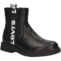 Sapatos Rapariga Botins Levi's VPHI0003S NASHVILLE Negro