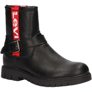 Sapatos Rapariga Botas Levi's VPHI0005S NEWPORT Negro