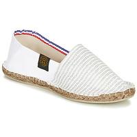 Sapatos Mulher Alpargatas Art of Soule AUDACIEUSES Branco / Prata