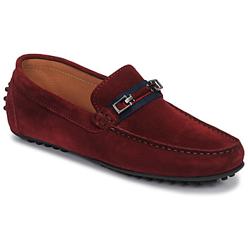 Sapatos Homem Mocassins Brett & Sons FARICE Castanho / Marinho