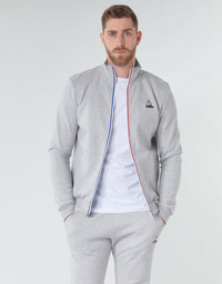 Textil Homem Casacos fato de treino Le Coq Sportif ESS FZ Sweat N°2 M Cinza
