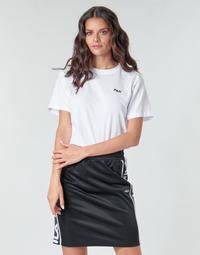 Textil Mulher T-Shirt mangas curtas Fila EARA Branco