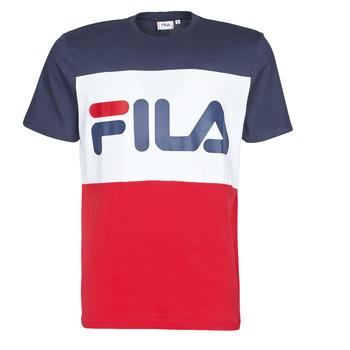 Textil Homem T-Shirt mangas curtas Fila DAY Marinho / Vermelho / Branco