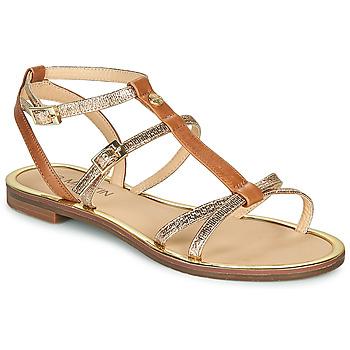 Sapatos Mulher Sandálias JB Martin 1GRIOTTES Castanho / Ouro