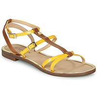 Sapatos Mulher Sandálias JB Martin 1GRIOTTES Amarelo / Castanho