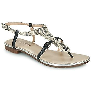 Sapatos Mulher Sandálias JB Martin 2GAELIA Preto / Bege