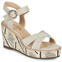 Sapatos Mulher Sandálias JB Martin EMEA Bege
