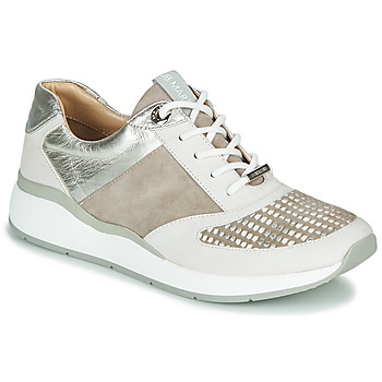 Sapatos Mulher Sapatilhas JB Martin 1KALIO Bege / Branco / Prata