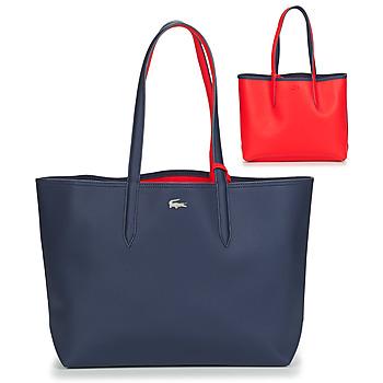 Malas Mulher Cabas / Sac shopping Lacoste ANNA Marinho / Vermelho