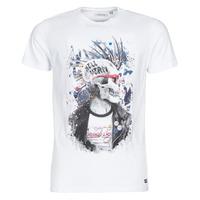 Textil Homem T-Shirt mangas curtas Deeluxe ENFIELDON Branco