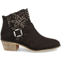 Sapatos Mulher Botins Flyfor J103 Negro