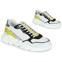 Sapatos Mulher Sapatilhas Serafini OREGON Branco / Preto / Amarelo