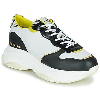Sapatos Mulher Sapatilhas Serafini BROOKLYN Branco / Preto